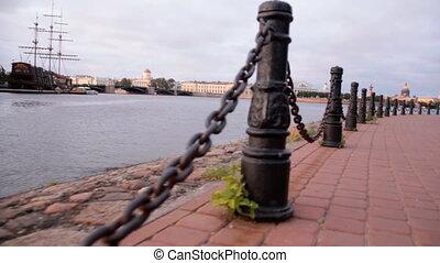 Neva River - Russia, St Petersburg, Neva River 07052011