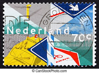 Postage stamp Netherlands 1983 Royal Dutch Touring Club -...