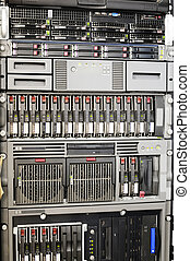 Rackmount equipment - Rack mounted network system storage...