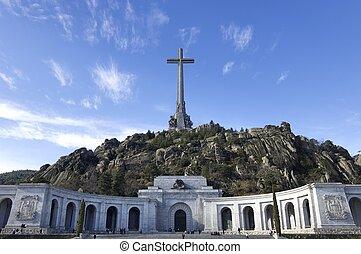 Valle de los Caidos - San Lorenzo del Escorial, Spain -...