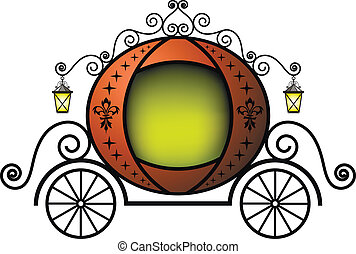 Fairytale carriage - Cute fairytale carriage