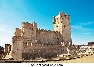 La Mota castle, Valladolid, Spain - La Mota castle, Medina...