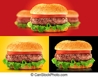 Hamburger - Big set of hamburger