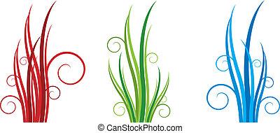 floral grass