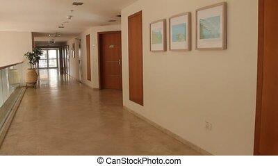 Modern building Interior - Modern building Corridor interior...