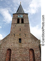 Small church in Ulrum (North-Netherlands)