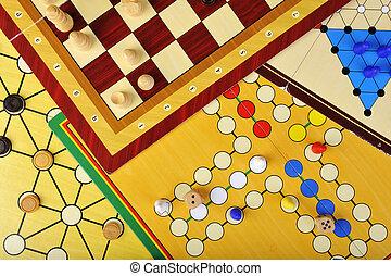 tabla, juegos