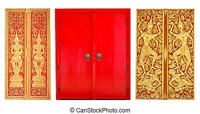 3 style of cruch door