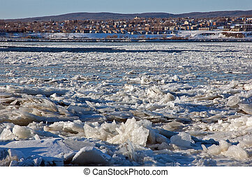 St. Lawrence river near Quebec city