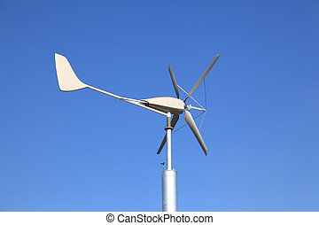 Wind Turbine using as Green Power and Energy