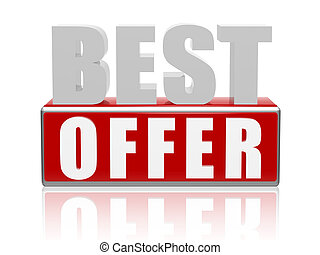 best offer - letters and cubes - 3d color letters and cubes...
