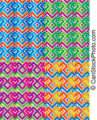 mexican ethnic seamless pattern