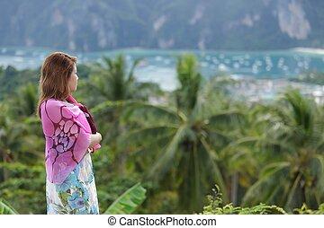 watching ko phi phi landscape
