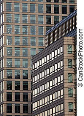 corporate building - Business corporate building, glass and...