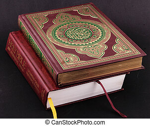 books - The Koran and Bible
