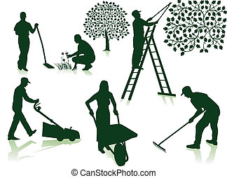Lawn Care Clip Art Graphics