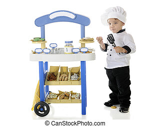 """Sugar Stupor - A preschool """"chef"""" becoming stupified from..."""