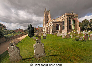 St Marys Church - St Marys church in Stoke-by-Nayland dates...