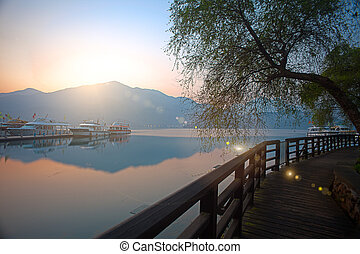 Sun Moon Lake Dawn, Nantou, Taiwan