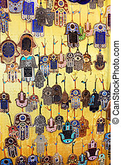 hamsa - blessing for home - Various amulets in Jewish...