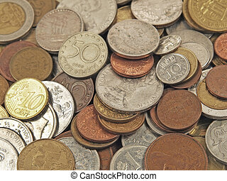 Coins of different countries - Coins of different countries...