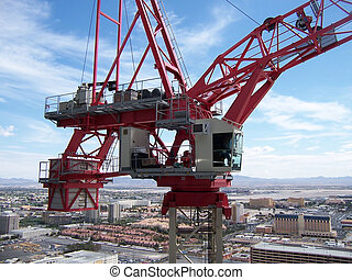 Ironworker View of a Tower Crane - You have seen many of...