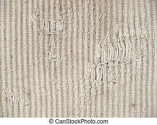 The rough dirty knit fabric texture.