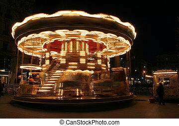 classique, francais, carrousel