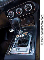 automatic transmission gear level with double-clutch