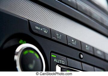 coche, clima, control
