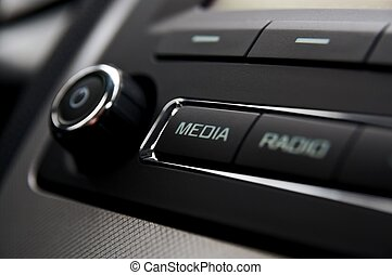 Car radio detail