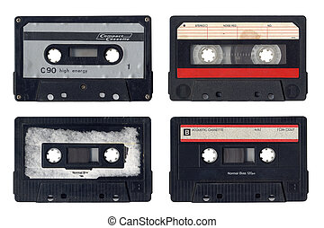 Vintage Compact Cassettes - Collection Of Vintage Compact...