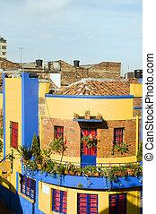 architecture historic La Candelaria Bogota Colombia