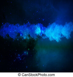 Nebulosa in the space
