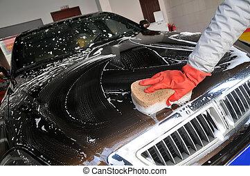 Auto, waschen