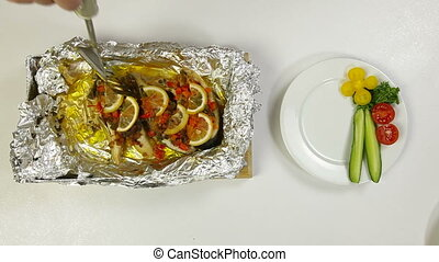 Prepared Baked Fish
