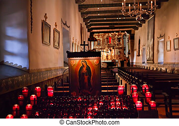Guadalupe Shrine Serra Chapel Mission San Juan Capistrano...