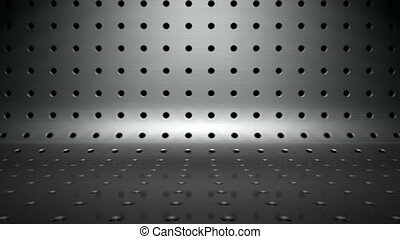 metal small hole - abstract metal background