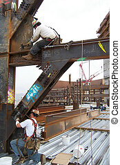 Ironworker Boltup Men - This picture taken with a 4 mp...