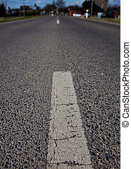 dual carriageway - Medial strip of an road