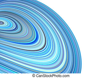 3d render concentric pipes tube abstract blue purple backdrop