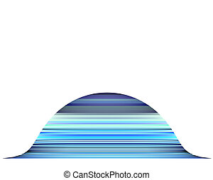3d render mountain abstract blue purple backdrop