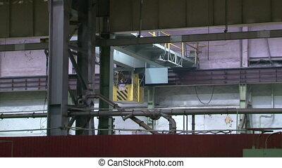 Industrial plant, the enterprise.