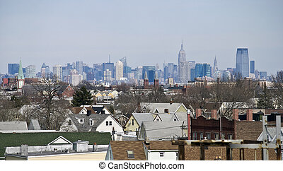 Bayonne City View - A panoramic view of the neighborhood...