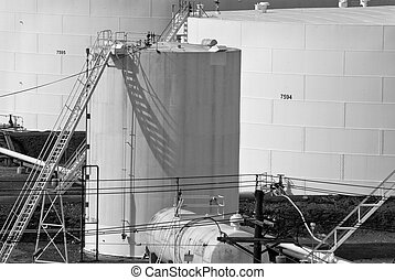 quot;Tanksquot; B and W - A black and white photograph of...
