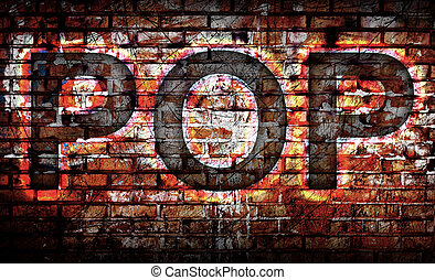 Pop Music on the wall background