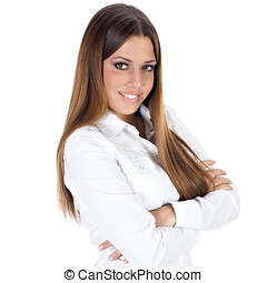 successful business woman - Portrait of successful business...