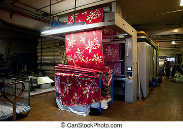 Industry: plant for textile printing - Textile printing is...