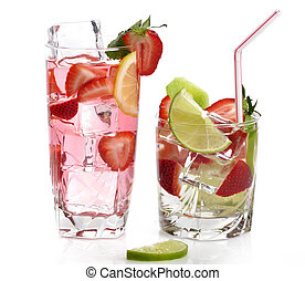 Fruit Drinks With Ice