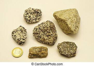 stones of the dolomitic mountains closeup